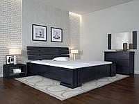 Современная деревяная кровать Домино