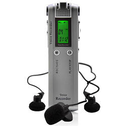 Диктофон цифровий журналіст Kronos G278 з пам'яттю 4гб працює від батарейки ААА (acf_00089)