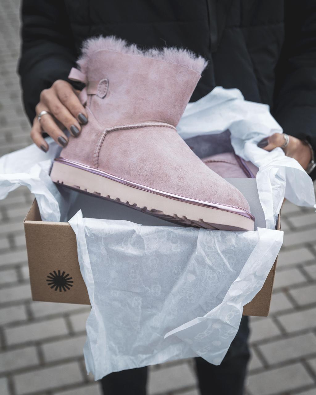 Ugg Mini Bailey Bow ll Pink