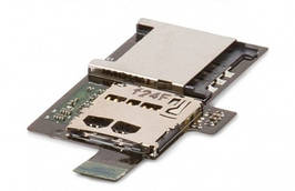 Шлейф HTC Z710 Sensation, Z715 Sensation XE SIM-карты и карты памяти