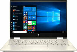 Ноутбук HP Pavilion x360 - 14m-dh1003dx 8/256 Gb 2 в 1 Silver Intel Core i5-10210U