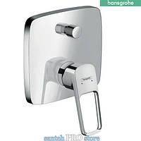 Смеситель для ванны HANSGROHE Logis Loop, однорычажный, скрытый монтаж, хром.