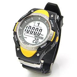 Годинники наручні чоловічі рибальські барометр Sunroad FR718A водонепроникність 5АТМ Чорний (acf_00123)