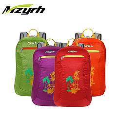 Складной портативный (190 г) рюкзак MZYRH M2439 13 л (три отделения / водоотталкивающий материал)
