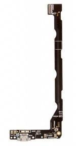 Нижняя плата Asus ZenFone 2 Laser (ZE600KL), (ZE601KL Z011D) с разъемом зарядки и микрофоном, фото 2
