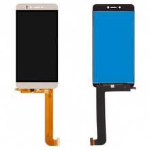 Дисплей Prestigio MultiPhone 3531 Muze E3, 7530 Muze A7, 3530 Muze D3 с сенсором (тачскрином) золотистый
