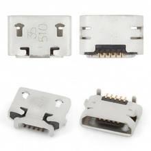Разъем зарядки (коннектор) Sony D2004 Xperia E1, D2005, D2104, D2105, D2114, E2104, E2105, E2115, E2124 5 pin, micro-USB тип-B