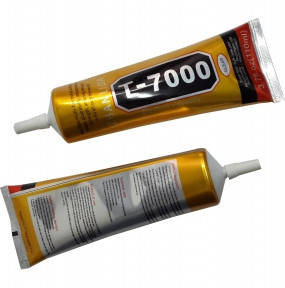 Клей силіконовий T7000, універсальний, чорний, 110мл, фото 2