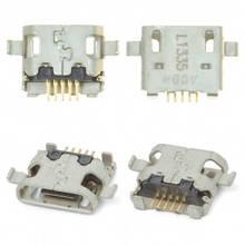 Разъем зарядки (коннектор) HTC Desire 300, Desire 500, Desire 820 5 pin, micro-USB