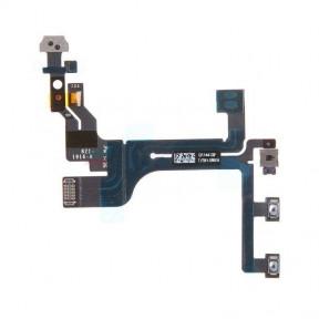 Шлейф Apple iPhone 5C с кнопкой включения и регулировки громкости