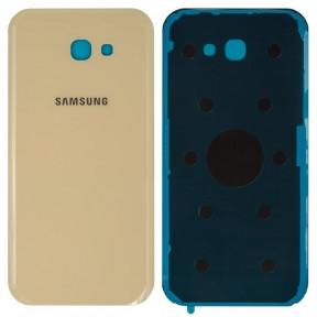 Задняя крышка Samsung A720F Galaxy A7 (2017) золотистая
