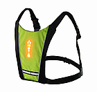 Беспроводной велосипедный водоустойчивый (IPx-2) диодный указатель поворотов / велоповоротник на спину, фото 2