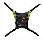 Беспроводной велосипедный водоустойчивый (IPx-2) диодный указатель поворотов / велоповоротник на спину, фото 5
