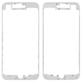 Рамка крепления дисплея для Apple iPhone 7 Plus белая