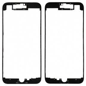 Рамка крепления дисплея для Apple iPhone 7 Plus черная, фото 2