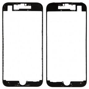 Рамка крепления дисплея для Apple iPhone 7 черная