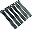 Хомут / стяжка / компресійна стропа для фіксації липучкою Velcro Велкро з пластиковим кільцем, фото 3