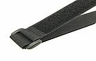 Хомут / стяжка / компресійна стропа для фіксації липучкою Velcro Велкро з пластиковим кільцем, фото 4