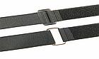 Хомут / стяжка / компресійна стропа для фіксації липучкою Velcro Велкро з пластиковим кільцем, фото 6