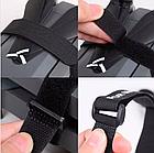 Хомут / стяжка / компресійна стропа для фіксації липучкою Velcro Велкро з пластиковим кільцем, фото 10