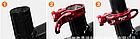 Швидкознімний підсідельний алюмінієвий CNC / ЧПУ хомут з ексцентриком 34,9 мм і мигалкою MZYRH, фото 4