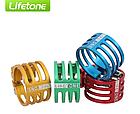 Подседельный алюминиевый CNC / ЧПУ хомут / зажим Lifetone L-329 34,9 мм антивандальный / против кражи седла , фото 4