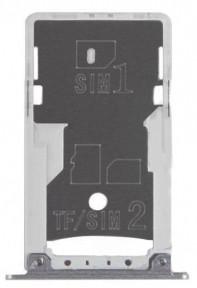 Держатель Sim-карты и карты памяти Xiaomi Redmi Note 4 черный