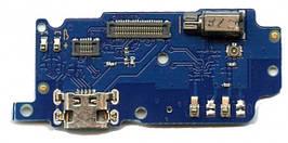 Нижняя плата Meizu M5s M612 с разьемом зарядки, виброзвонком и микрофоном