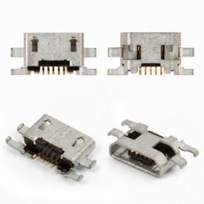 Разъем зарядки (коннектор) Sony C2304 S39h, C2305 S39h Xperia C, 5 pin, micro USB тип-B