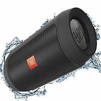 Jbl Charge 2 портативная колонка Bluetooth, звуковая Блютуз акустика Черный, фото 1