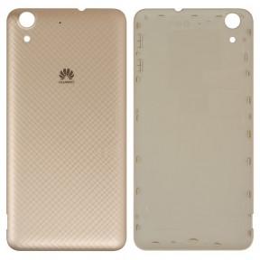 Задняя крышка Huawei Y6 II (CAM-L21), Honor 5A (CAM-AL00) золотистая