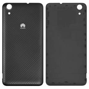 Задняя крышка Huawei Y6 II (CAM-L21), Honor 5A (CAM-AL00) черная, фото 2