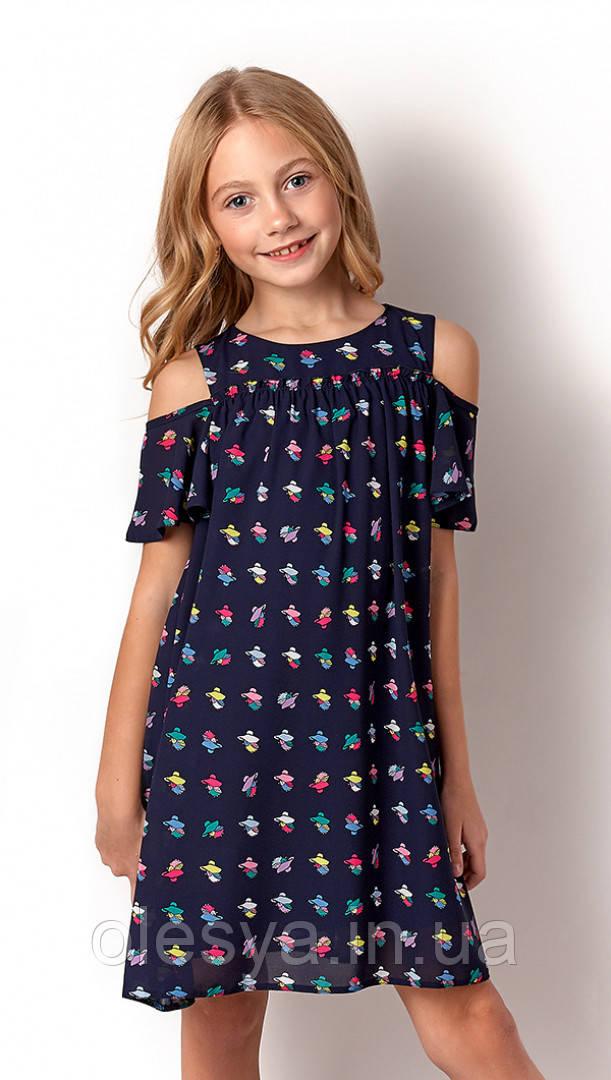Платье летнее для девочек 3249 тм Mevis Размеры 122-146