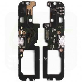 Нижняя плата Lenovo A7020 Vibe K5 Note с разьемом зарядки и микрофоном