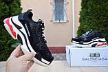 Кроссовки Balenciaga Triple S (весна/осень, женские, текстиль), фото 2