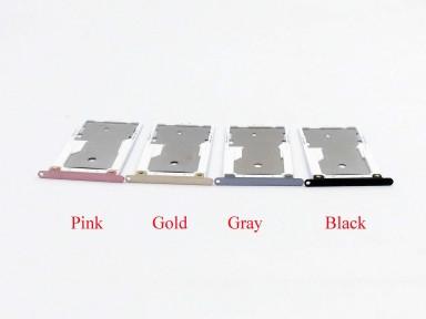 Держатель Sim-карты и карты памяти Xiaomi Redmi Note 4X черный Оригинал