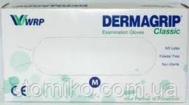 Перчатки гиппоаллергенные DERMAGRIP,  размер M, 100шт/уп,