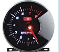 602705-MGB1-1/CK Тахометр LED стрелочный диам. 60мм.черный в корпусе, фото 1