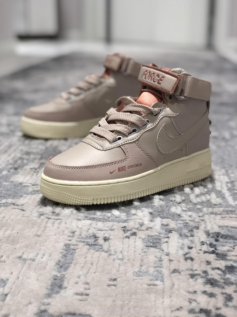 Кроссовки женские в стиле Nike Air Force 1 High