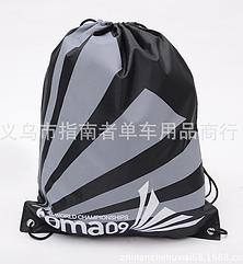 Універсальний спортивний / міський / пляжний складаний портативний (45 г) рюкзак-мішок / торбинка / торба ROMA09 ЧОРНИЙ