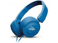 Беспроводные наушники Jbl T450BT Синие, фото 1