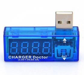 USB тестер струму і напруги вольтметр амперметр Charger Doctor (acf_00155)