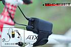 Мембранный электрический клаксон / гудок / сигнал 8.4V Aowe FA-668 (батарея-повербанк 8.4 / 5 V, литая кнопка), фото 5