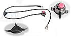 Мембранный электрический клаксон / гудок / сигнал 8.4V Aowe FA-668 (батарея-повербанк 8.4 / 5 V, литая кнопка), фото 6