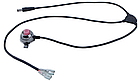 Мембранный электрический клаксон / гудок / сигнал 8.4V Aowe FA-668 (батарея-повербанк 8.4 / 5 V, литая кнопка), фото 7