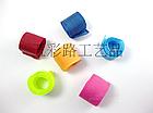 Текстильная стяжка / хомут/ липучка бытовая HOOK&LOOP Velcro Велкро (18 см) многоразовая, фото 2
