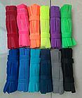 Текстильная стяжка / хомут/ липучка бытовая HOOK&LOOP Velcro Велкро (18 см) многоразовая, фото 4