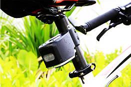 Вело противоугонная USB сигнализация 120 Дб со встроенным габаритом FEDOG F-110 (пульт Д/У и акселерометр)