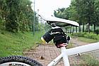 Навесная велосипедная / бытовая противоугонная USB сигнализация с управлением на брелке ДУ FEDOG F-115, фото 5