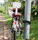 Навесная велосипедная / бытовая противоугонная USB сигнализация с управлением на брелке ДУ FEDOG F-115, фото 7